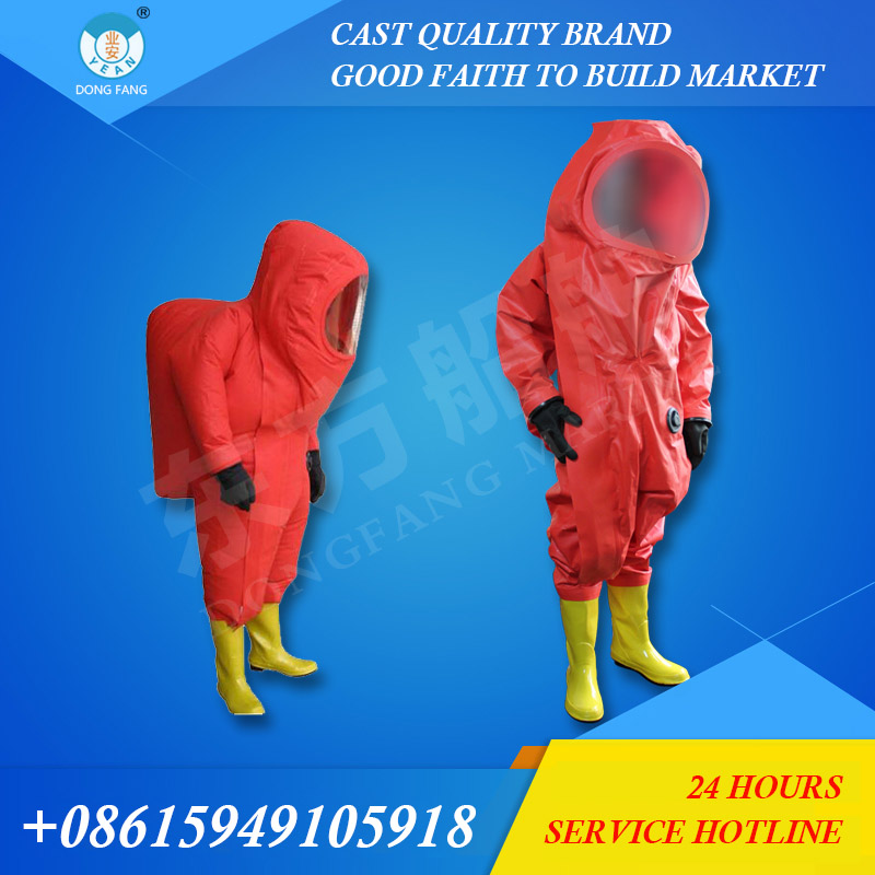 Air tightness chemical protective clothing